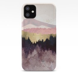 Plum Forest iPhone Case