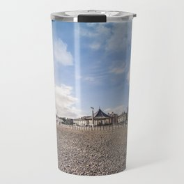 Bray beach landscape Travel Mug