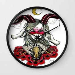Fabel She Devil Wall Clock