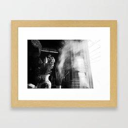 Flowers and Phantom Framed Art Print