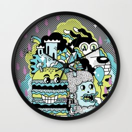 Magic Friends Wall Clock