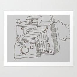 Land Camera Art Print