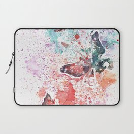 Butterflies Watercolor Painting Laptop Sleeve