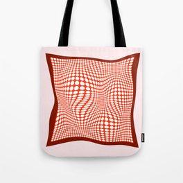 Silk Scarf Tote Bag
