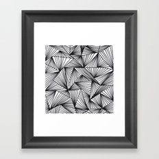 TriangleAngle Framed Art Print