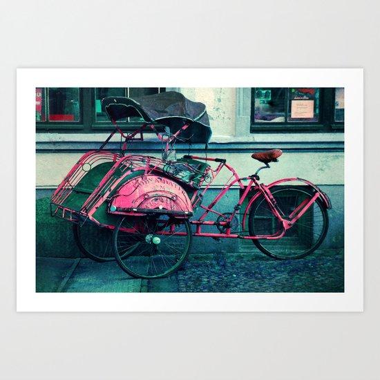drive? Art Print
