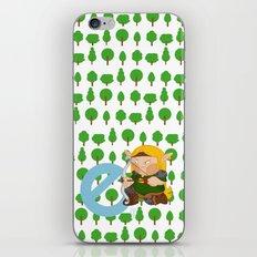 E for elf iPhone & iPod Skin
