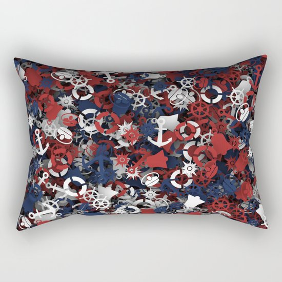 Nautical things Rectangular Pillow