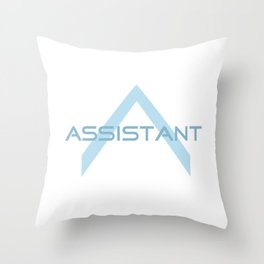 Assistant Throw Pillow