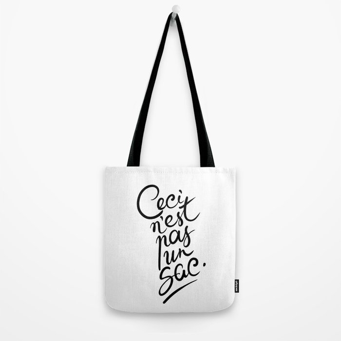 This is not art. Tote Bag