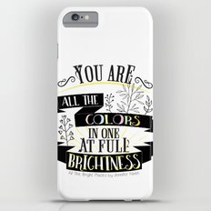 All The Bright Places by Jennifer Niven Book Quote Typography Slim Case iPhone 6s Plus