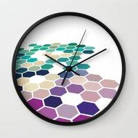 alabama Wall Clocks featuring Alabama by Bakmann Art