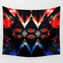 Shifted Red, White, & Blue Wall Tapestry