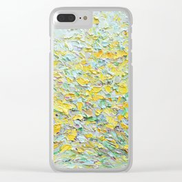 Forsythia Spring Clear iPhone Case
