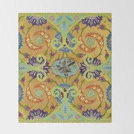 World Quilt - Panel #1 Throw Blanket