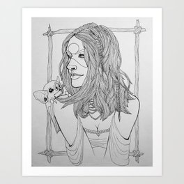Nicnevin Art Print