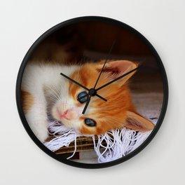 Gorgeous Blue Eyes Wall Clock
