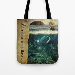 WATER WORLD Tote Bag