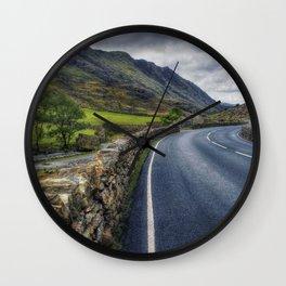 Llanberis Pass Wall Clock