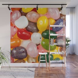 Cool colorful sweet Easter Jelly Beans Candy Wall Mural