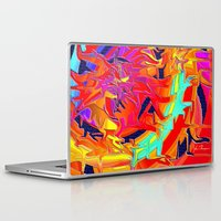 chakra Laptop & iPad Skins featuring Chakra by JT Digital Art