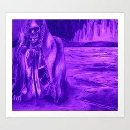 Lonely Mummy Art Print