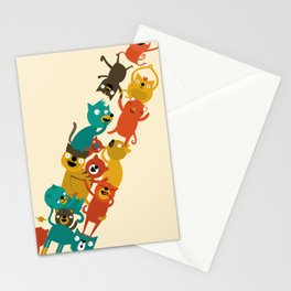 The Cats Tower Stationery Cards