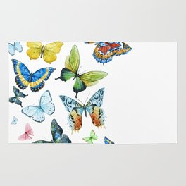 Butterflies 03 Rug