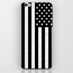 USA flag - HiDef Super Grunge Patina iPhone & iPod Skin