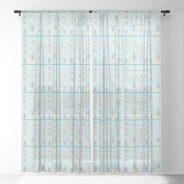 Hanging Garden Sheer Curtain