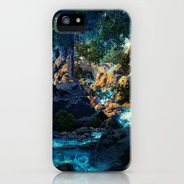 Doctrine of Divine Light by Maxfield Parrish iPhone Case
