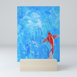 The Little Fish Mini Art Print