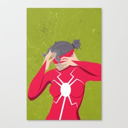 Spider-Man Poster Series : Madame Web Canvas Print