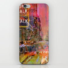 traffic jam pink iPhone & iPod Skin