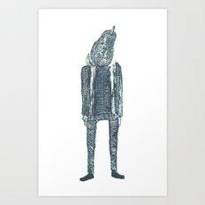 monsieur poire Art Print