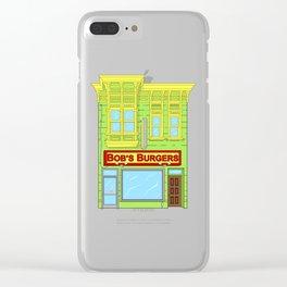 Bob's Burgers Clear iPhone Case