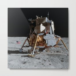 Apollo 14 - Lunar Module Metal Print