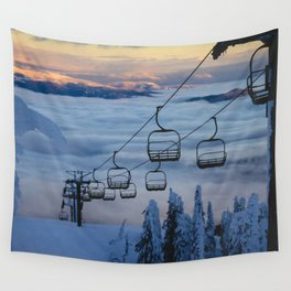 LAST CHAIR Wall Tapestry