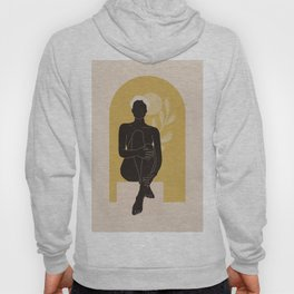 Abstract Art Nude Woman 4a Hoody