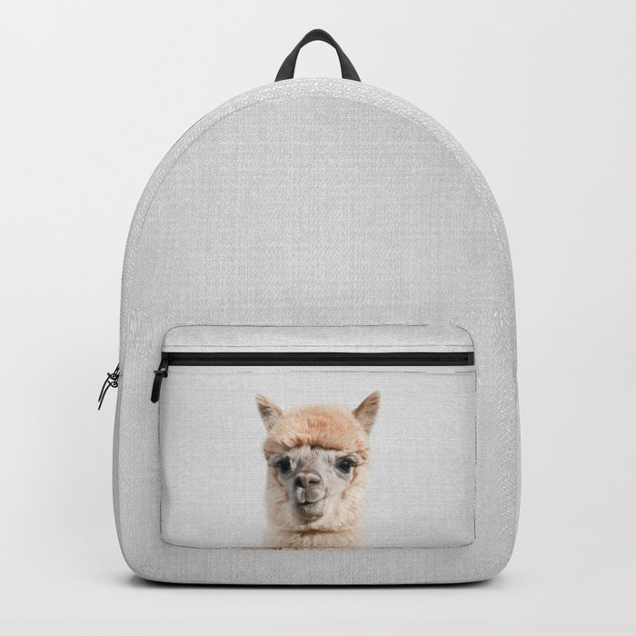Alpaca - Colorful Backpack