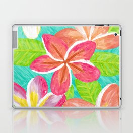 Plumeria love Laptop & iPad Skin