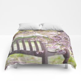 Spring Bench Comforters
