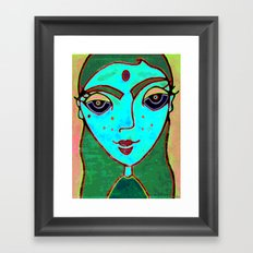 ASHRAM Framed Art Print
