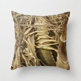 Wild Abandon Throw Pillow