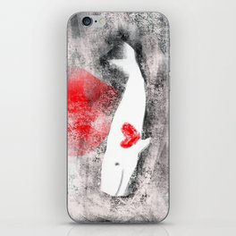 whale you be mine? iPhone Skin