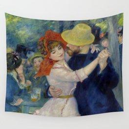 "Auguste Renoir ""Dance at Bougival"" Wall Tapestry"
