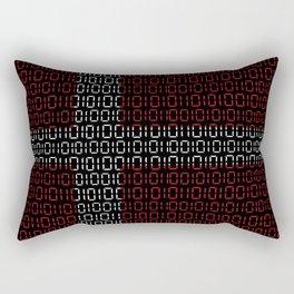 digital Flag (Denmark) Rectangular Pillow
