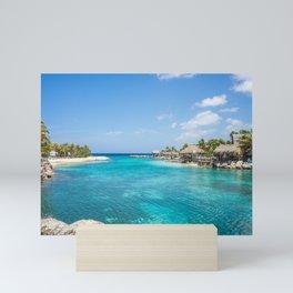 Curacao Sea Lagoon Willemstad Antilles Mini Art Print