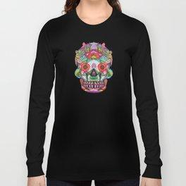 Hummingbird Skull II Long Sleeve T-shirt