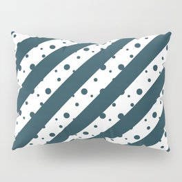 Stripes and Dots Pillow Sham